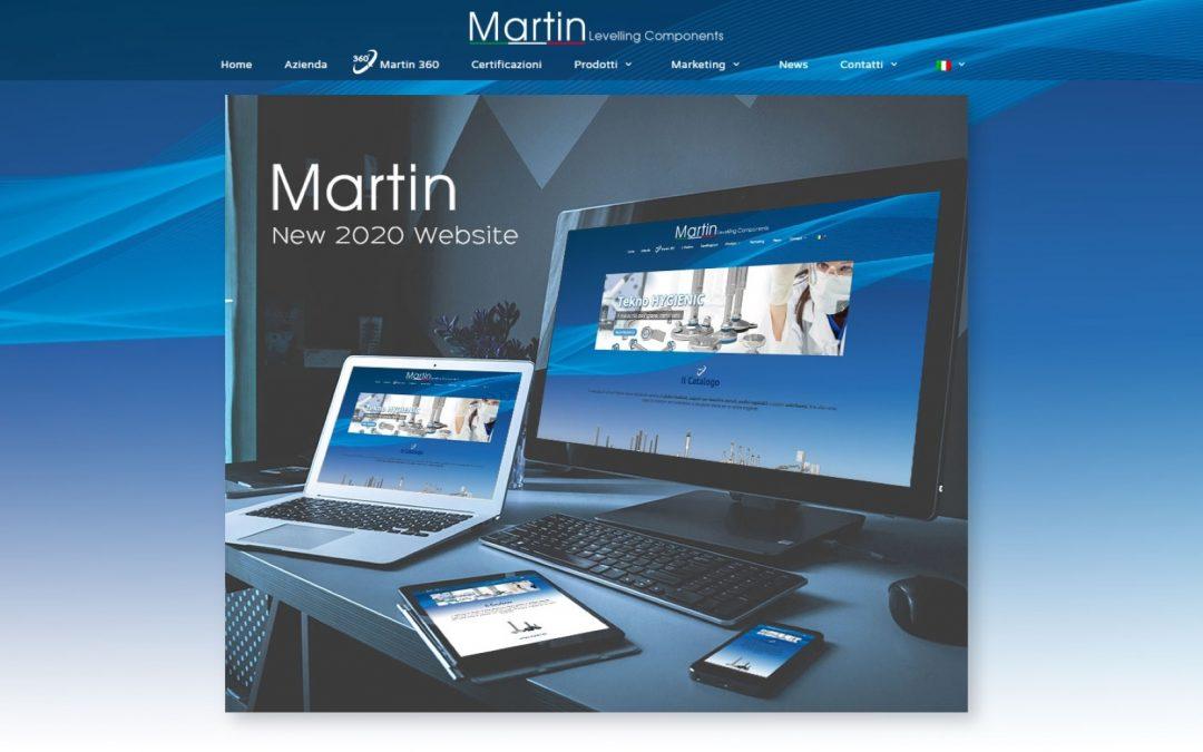 Nuovo sito Web Martin